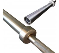 Гриф проф. д50 мм, макс. нагрузка 545кг, д. стержня 28мм, покрытие никель фосфор (Б/ЗАМКОВ)