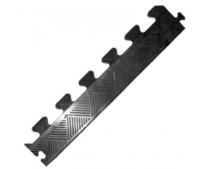 Бордюр резиновый для коврика, черный, толщина 12 мм
