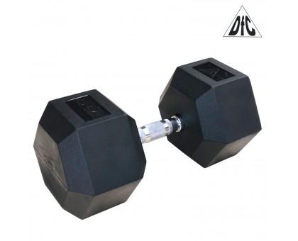 Гантели DFC гексаг.обрез. 42.5кг (пара) DB001-42.5